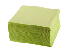 Paper napkins. Stock Photography