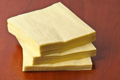 Paper napkins Royalty Free Stock Photography