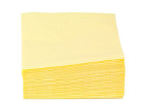 Paper napkins Royalty Free Stock Images