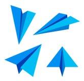 paper nivå också vektor för coreldrawillustration Arkivfoto