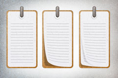 Paper note. Stock Photography