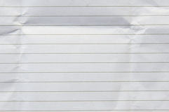 Paper note background. With black stripes on the column Stock Photo