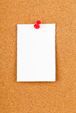 Paper note Stock Image
