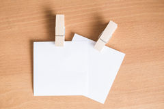 Paper note Stock Photography