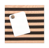 Paper note closed cloth board by magnet Royalty Free Stock Images