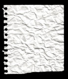 Paper from a notebook Stock Photos