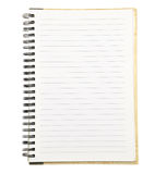 Paper notebook Stock Photos