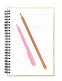 Paper notebook Stock Images