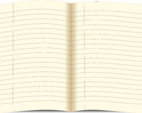 Paper of notebook stock illustration
