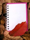 Paper notebook Royalty Free Stock Photo
