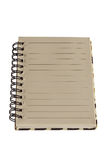Paper notebook right page Royalty Free Stock Photography