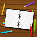 Paper notebook Stock Photography