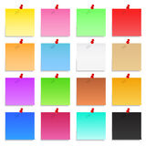 Paper Notes Royalty Free Stock Photos