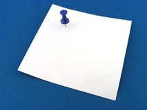 Paper for notes. For a background. A blue background Stock Photography