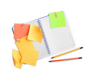 Paper for notes Stock Image