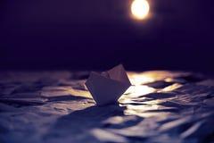 Paper ocean Stock Image