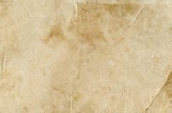 Paper old vintage background. Old paper texture. Hi res grunge paper texture. Old paper parchment with space for text. Vintage paper background. Brown empty old stock image