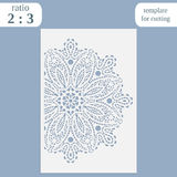 Paper openwork greeting card, template for cutting, lace invitation, lasercut metal panel, wood carving, laser cut plastic,. Vector stock illustration