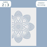 Paper openwork greeting card, template for cutting, lace invitation, lasercut metal panel, wood carving, laser cut plastic,. Vector vector illustration
