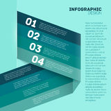 Paper options template vector illustration Stock Images