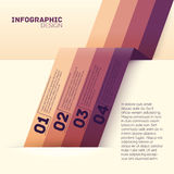 Paper options template vector illustration Royalty Free Stock Photography