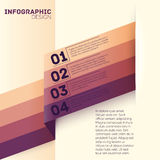 Paper options template vector illustration Stock Photos