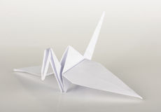 Paper origami crane Royalty Free Stock Photography