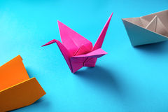 Paper origami Stock Images