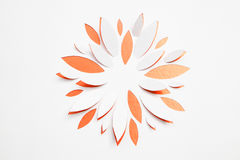 Paper origami flower Royalty Free Stock Photo