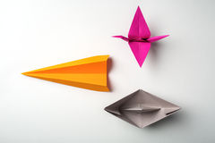 Paper origami Royalty Free Stock Images