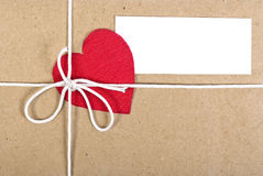 Paper package Royalty Free Stock Images