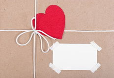 Paper package Stock Photography