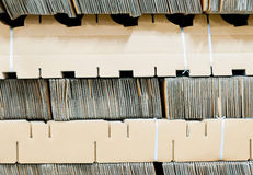 Paper package for industry packing Royalty Free Stock Image