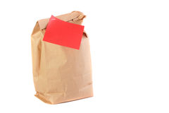 Paper packages Royalty Free Stock Photos