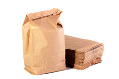 Paper packages Royalty Free Stock Images