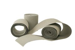 Paper for packaging. Fragile and valuable items and glass. second paper processing stock photos