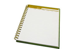 Paper page notebook Stock Image