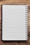 Paper page notebook Royalty Free Stock Photography