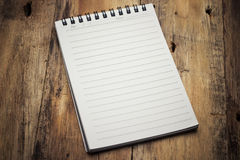 Paper page notebook Royalty Free Stock Photos