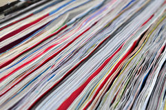 Paper pages abstract texture Stock Photography