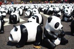 Paper Panda at Taipei Stock Images