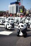 Paper Panda at Taipei Royalty Free Stock Photos