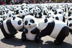 Paper Panda at Taipei Royalty Free Stock Image