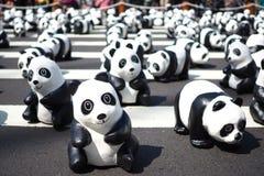 Paper Panda at Taipei Stock Image