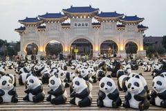 Paper Panda at Taipei stock photo