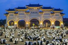 Paper Panda at Taipei royalty free stock photo