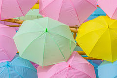Paper parasols Royalty Free Stock Photos