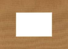 Paper passepartout Stock Image