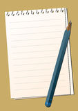 Paper_penci Royalty Free Stock Photo