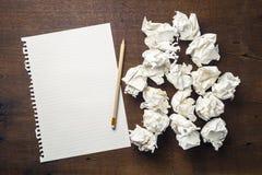 Start Writing Idea stock image